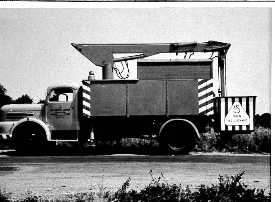 Erster Steiger 1950