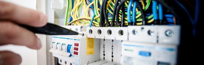 Schaltkasten, Strom, Elektiker